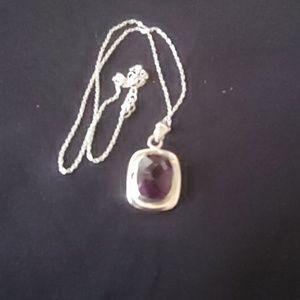 Jewelry - African Amethyst Pendant